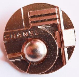 561 CHANEL VINTAGE COCO マーク デザイン  ボタン ゴールド
