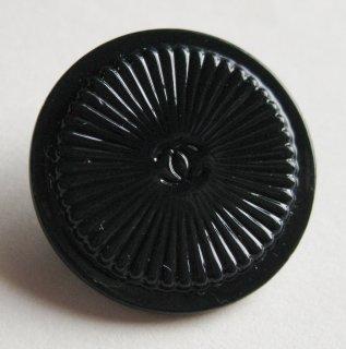 427-2 CHANEL VINTAGE(シャネル ヴィンテージ)COCOマーク デザイン  ボタン ブラック