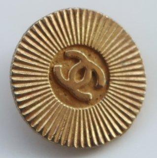 610 CHANEL VINTAGE(シャネル ヴィンテージ)COCOマーク デザイン  ボタン ゴールド