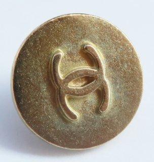 611-2 CHANEL VINTAGE(シャネル ヴィンテージ)COCOマーク デザイン  ボタン ゴールド