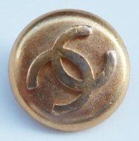 627-2 CHANEL VINTAGE(シャネル ヴィンテージ)COCOマーク デザイン  ボタン ゴールド