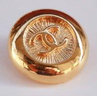 630 CHANEL VINTAGE(シャネル ヴィンテージ)COCOマーク デザイン  ボタン ゴールド