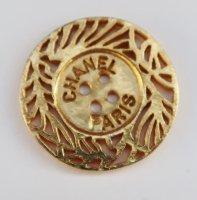 631-1 CHANEL VINTAGE(シャネル ヴィンテージ)CHANEL PARIS デザイン  ボタン ゴールド