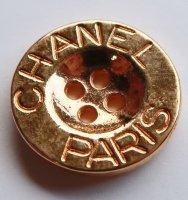 642 CHANEL VINTAGE(シャネル ヴィンテージ)CHANEL PARIS デザイン  ボタン ゴールド