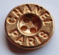 643-2 CHANEL VINTAGE(シャネル ヴィンテージ)CHANEL PARIS デザイン  ボタン ゴールド