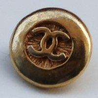 656-2 CHANEL VINTAGE(シャネル ヴィンテージ)COCOマーク デザイン  ボタン ゴールド