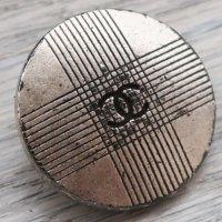 682 CHANEL VINTAGE(シャネル ヴィンテージ)cocoマーク デザイン  ボタン シルバー