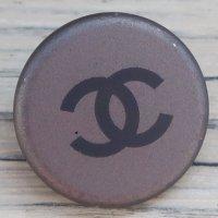 704 CHANEL(ヴィンテージ シャネル) COCOマーク ボタン シルバー