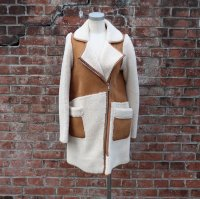 TheDelight ZIPUP MOUTON COAT CAMEL ジップ ムートン コート キャメル
