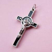 【2M】TheDelight MARIA CHRIST CROSS MEDAI TOP(マリア キリスト クロス メダイ トップ)シルバー