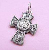 【2K】TheDelight MARIA CHRIST CROSS MEDAI TOP(マリア キリスト クロス メダイ トップ)シルバー