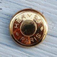 796 hermes VINTAGE (ヘルメス ヴィンテージ)セリエ デザイン ボタン ゴールド