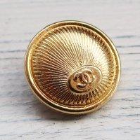 805 CHANEL(ヴィンテージ シャネル) COCOマーク ボタン ゴールド