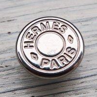 811 HERMES(ヴィンテージ エルメス) セリエ マーク スナップボタン シルバー