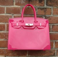 TheDelight JELLY BIRKIN NO FLAP BAG PINK ジェリー バーキン バッグ ピンク