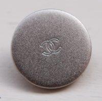 861 CHANEL(ヴィンテージ シャネル)COCOマーク デザイン ボタン シルバー