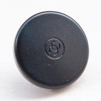 880 CHANEL(ヴィンテージ シャネル)COCOマーク デザイン スナップボタン ブラック