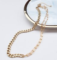 The Delight Shop VINTAGE CHAIN NECKLESS