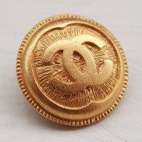 900-2 CHANEL VINTAGE(シャネル ヴィンテージ)COCOマーク デザイン  ボタン ゴールド
