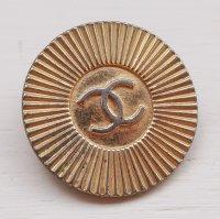 902-1 CHANEL VINTAGE(シャネル ヴィンテージ)COCOマーク デザイン  ボタン ゴールド
