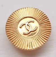 902-2 CHANEL VINTAGE(シャネル ヴィンテージ)COCOマーク デザイン  ボタン ゴールド