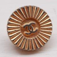 902-3 CHANEL VINTAGE(シャネル ヴィンテージ)COCOマーク デザイン  ボタン ゴールド