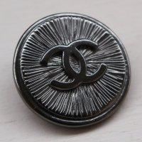 905 CHANEL(ヴィンテージ シャネル)COCOマーク デザイン ボタン ブラック