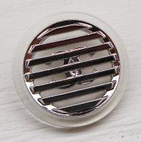 907-1 CHANEL(ヴィンテージ シャネル)COCOマーク デザイン ボタン クリア