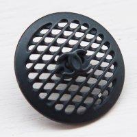 911-1 CHANEL(ヴィンテージ シャネル)COCOマーク デザイン ボタン ブラック