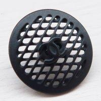 911-2 CHANEL(ヴィンテージ シャネル)COCOマーク デザイン ボタン ブラック