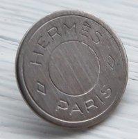 920-2 HERMES(ヴィンテージ エルメス) セリエ マーク ボタン シルバー