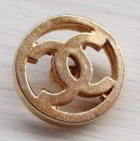 924 CHANEL VINTAGE(シャネル ヴィンテージ)COCOマーク デザイン  ボタン ゴールド