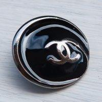 931 CHANEL(ヴィンテージ シャネル)COCOマーク ボタン ブラック