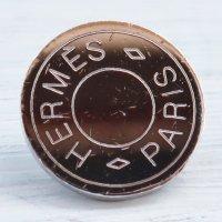 942 HERMES(ヴィンテージ エルメス) セリエ マーク ボタン シルバー