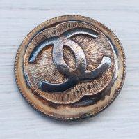 944 CHANEL(ヴィンテージ シャネル)COCOマーク ボタン ゴールド