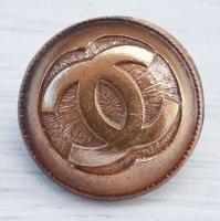 945 CHANEL(ヴィンテージ シャネル)COCOマーク ボタン ゴールド