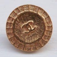 947-1 CHANEL(ヴィンテージ シャネル)COCOマーク ボタン ゴールド