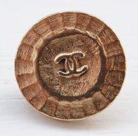 947-2 CHANEL(ヴィンテージ シャネル)COCOマーク ボタン ゴールド