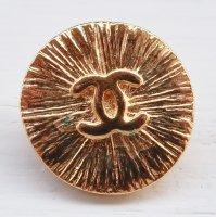 948 CHANEL(ヴィンテージ シャネル)COCOマーク ボタン ゴールド