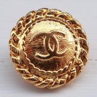 953-1 CHANEL(ヴィンテージ シャネル)COCOマーク ボタン ゴールド