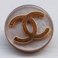 958 CHANEL(ヴィンテージ シャネル)COCOマーク ボタン シルバー