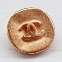 968-2 CHANEL(ヴィンテージ シャネル)COCOマーク ボタン ゴールド