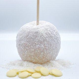 【りんご飴】ホワイトチョココナッツ