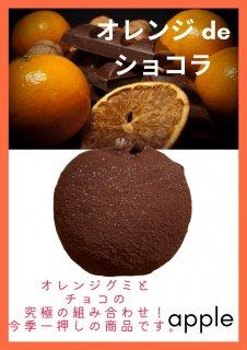 【りんごグミ】オレンジdeショコラ(りんごグミオレンジ)
