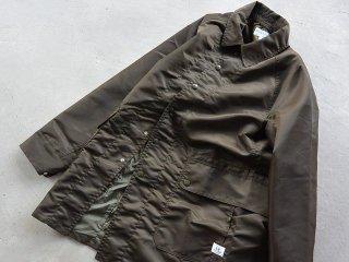 SASSAFRAS ササフラス / Fall Leaf Coat + nylon twill olive