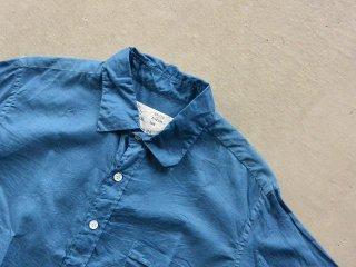 AULICO アウリコ / Cotton Shirts sax