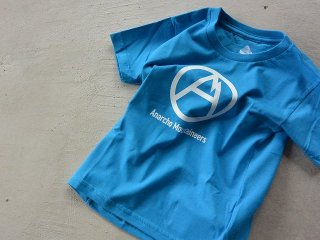 MOUNTAIN RESEARCH マウンテンリサーチ / A.M. Kids Tee blue