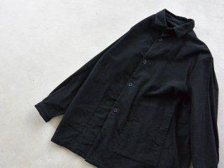 LOLO ロロ / ピーチスエード シャツジャケット ブラック