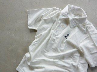 MOUNTAIN RESEARCH マウンテンリサーチ / Animal Polo white