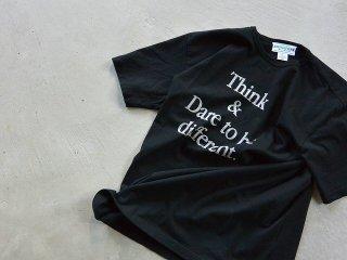 SASSAFRAS ササフラス / Think & DTBD T 1/2 black